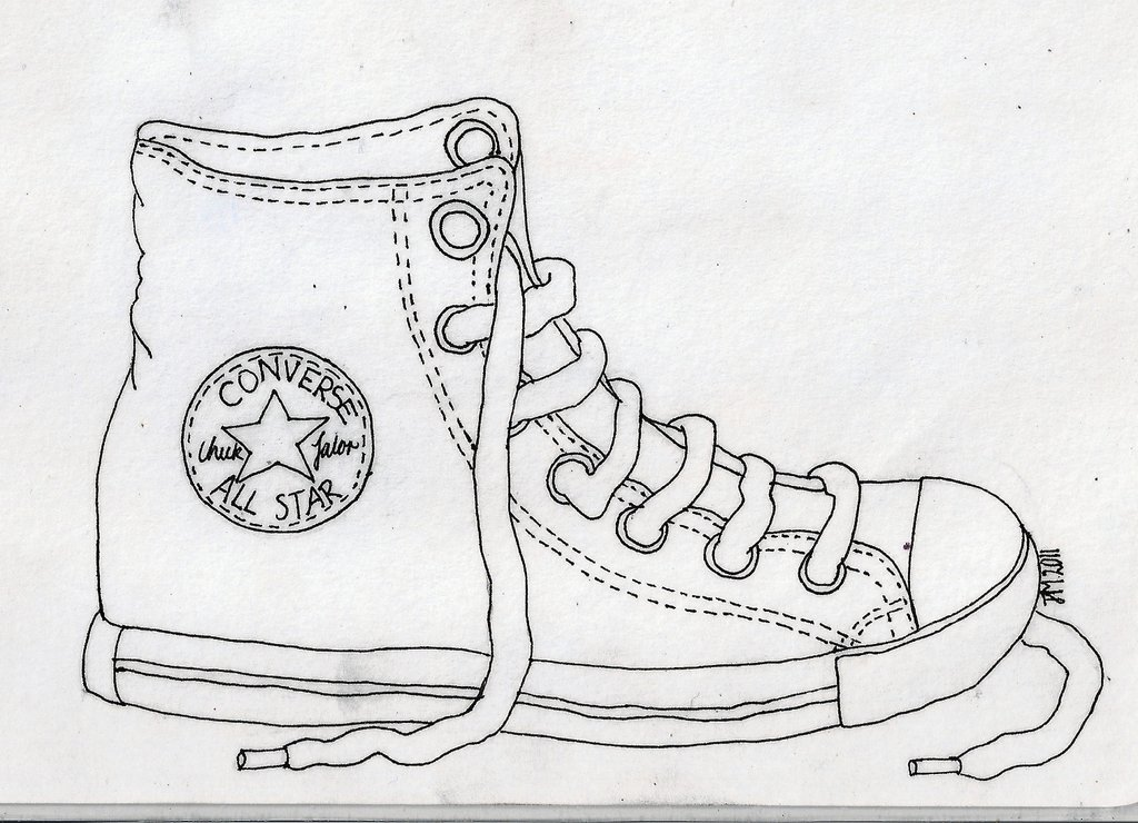 Contour Line Drawing Shoes Lesson Plan : Htcs art homework for week …due tuesday august th when