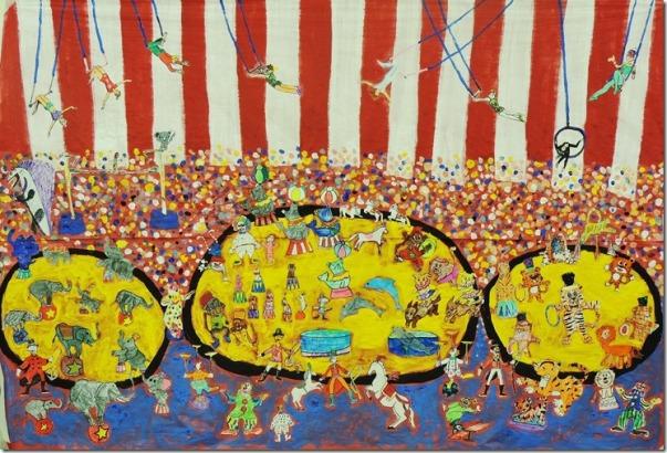 Circus mural 003