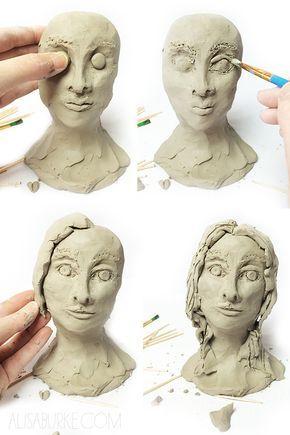 Potrait heads