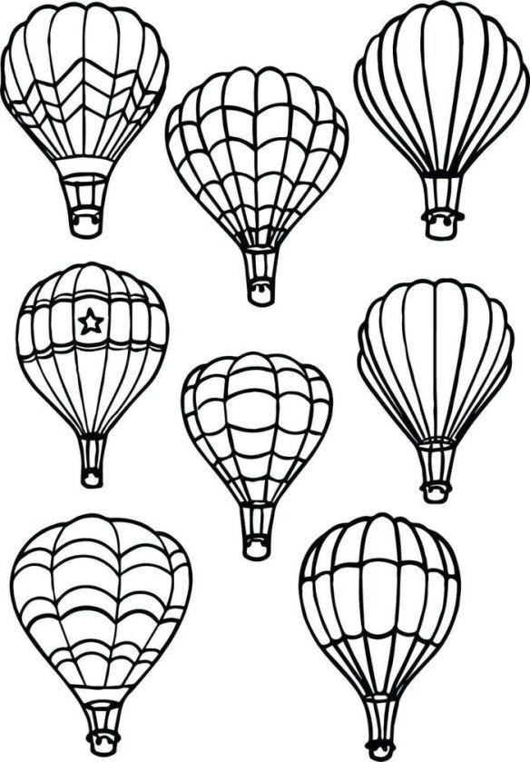 Balloons line